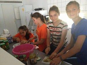 Rumensk dag, måtte vi lage rumensk mat til 70 personer
