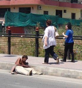 Addict begging- Albania 2013