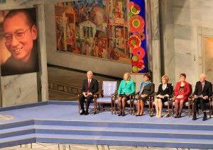 Premiul Nobel pentru Pace în 2010 a fost acordat lui Liu Xiaobo, un disident chinez aflat în închisoare.
