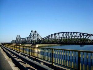 The longest bridge in Europe in 1895