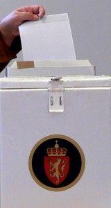 urna alegeri norvegia