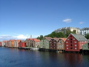 Trondheim_orasul_vechi