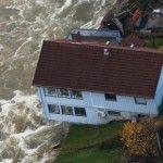 Inundatii puternice in vestul Norvegiei