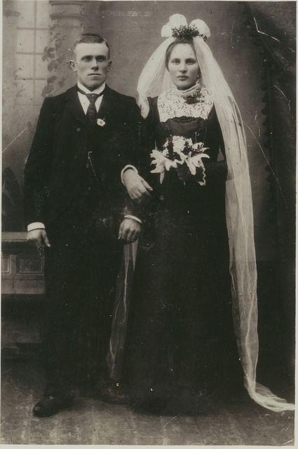 Fotografie de la o nuntă din 1902