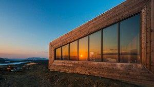 Laterală cabana Rabot. Foto: Jan Inge Larsen