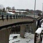 Drumul european E18 nu va putea fi folosit o vreme indelungata