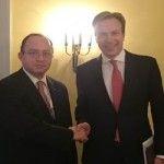 Vizita oficiala în Norvegia a ministrului român al afacerilor externe, Bogdan Aurescu