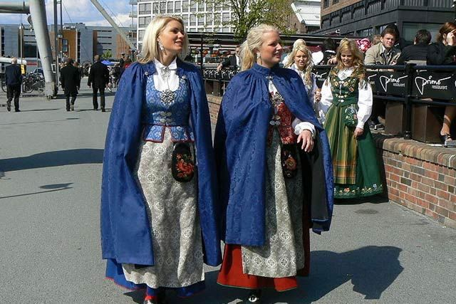 Costume traditionale norvegiene