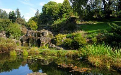 Grădina Botanicâ, fondată în 1814