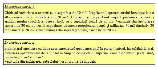 exemplu taxe inchiriere 1