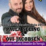 Concert de Craciun pentru romanii din Norvegia – Oslo, 10 decembrie
