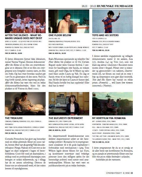 rumensk filmdager