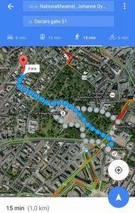 Traseul marșului