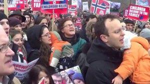 protest antibarnevernet