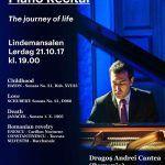 Concert: Pianist român pe scena Academiei de Muzică a Norvegiei. Intrarea liberă