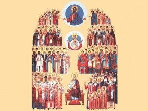 sfinti romani