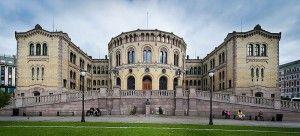 Stortinget - Clădirea Parlamentului din Oslo