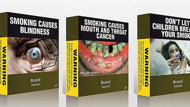 Aceasta a fost prounerea Australiei pentru pachetele de  țigări standardizate