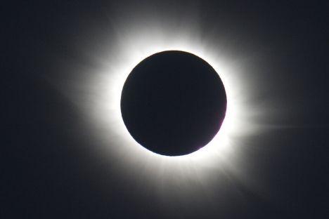 Eclipsa, văzută din Svalbard