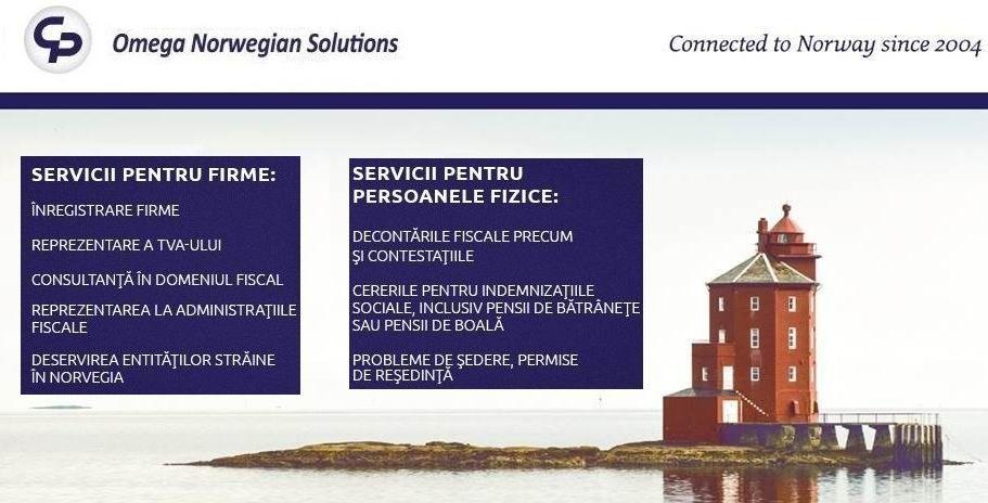 Omega Norwegian Solutions servicii